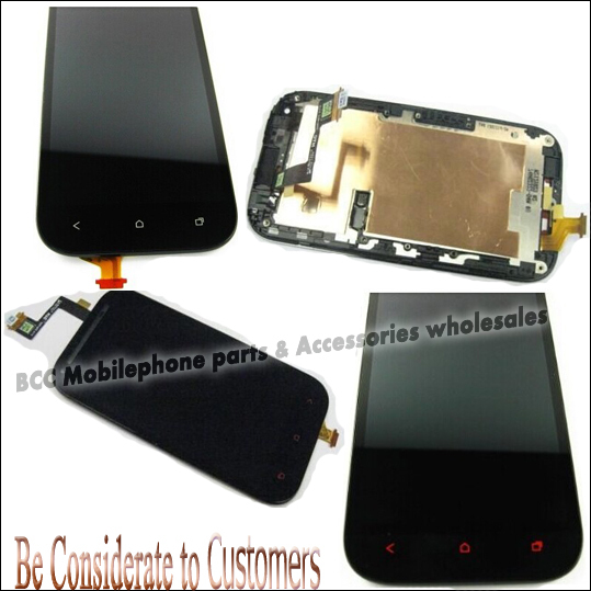 Подробнее о 100% Original LCD Display +Touch Screen Assembly Digitizer Panel with Frame For HTC ONE SV Black/White Tools Free Shipping 5pcs black white color for htc one m8 1pc lot lcd display touch screen digitizer with frame replacement free shipping