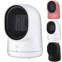 500W Mini Fan Heater Wall Mounted Electric Heater Stove Radiator Warmer Household Room Heating Fan Machine for Winter