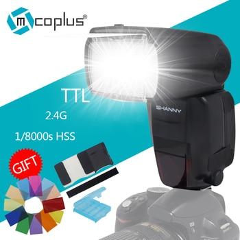 Shanny SN600EX-RF TTL1/8000s HSS 2.4G Master Slave Speedlite Flash for Canon 1100D 1200D 550D 650D 700D 40D 60D 70D 7D 7DII 6D