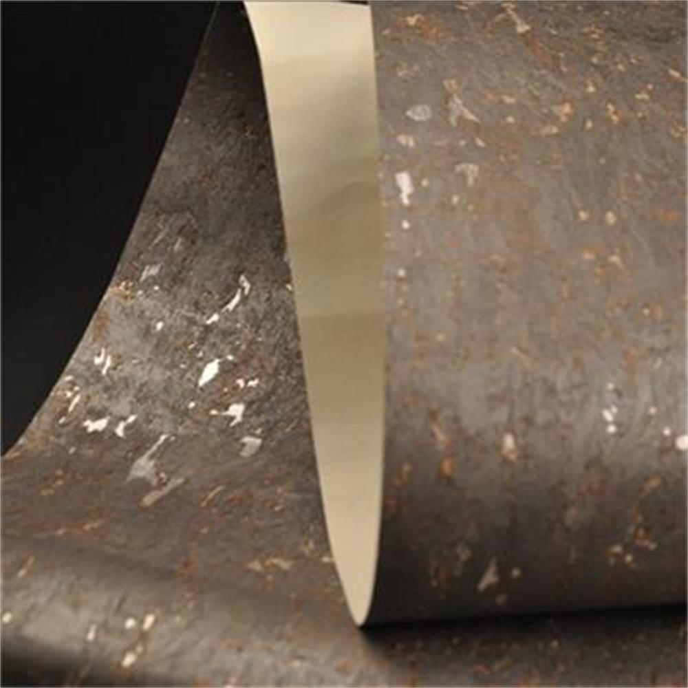 buy dark grey cork natural wood material moden style soundproof wallpaper for office design from reliable soundproof