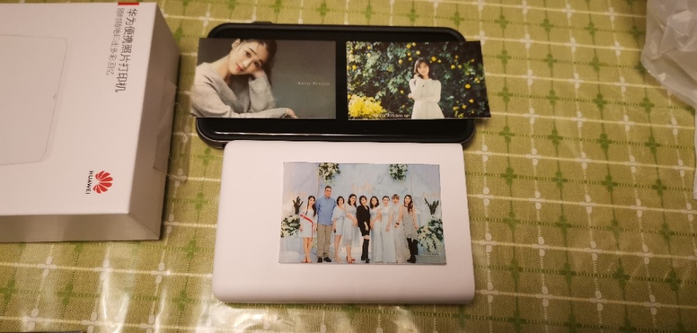 Original Huawei Zink Pocket Photo Printer AR Pocket Printer 300dpi Portable Mini Printers Bluetooth 4.1 Support DIY Share 500mAh (2)