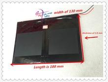 Frete grátis Tablet PC talk9x u65gt, bateria 28*130*188 3.7 V 10000 mah Li-ion «para a bateria