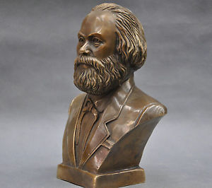 Chinese Old 7 German Great Communist Carl Marx Bust Bronze Statue Walking Stick Head decoration bronze factory outletsChinese Old 7 German Great Communist Carl Marx Bust Bronze Statue Walking Stick Head decoration bronze factory outlets