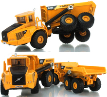 1:50 Scale Alloy A40D Excavator Dumper Engineering Metal Diecast Truck Car Funny Toy For Boys Kids Birthday Gifts Free Shipping