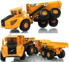 1:50 escala liga a40d escavadeira dumper engenharia metal diecast caminhão carro brinquedo engraçado para meninos crianças presentes de aniversário frete grátis