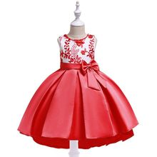 Baby Girls Dress For Girls Pageant Wedding Party Dresses Kids Formal Princess Christmas Dress up Costume Children Girls Clothing girls dress summe children s clothing party princess baby kids girls clothing lace wedding dresses prom long dress teen costume