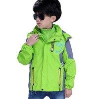 Kids Winter Jacket For Boys Outdoor Thick Warm Coat Children Autumn Sport Boys Outerwear Kids Jacket Hiking Climbing
