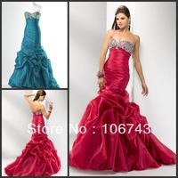 vestido de noiva sweetheart 2018 Trumpet / Mermaid cute best brides Custom crystal purple bandage prom gown bridesmaid dresses