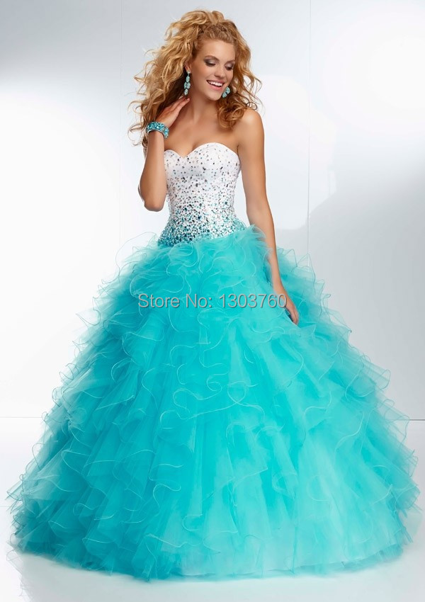 Popular Ice Blue Quinceanera Dress-Buy Cheap Ice Blue Quinceanera ...