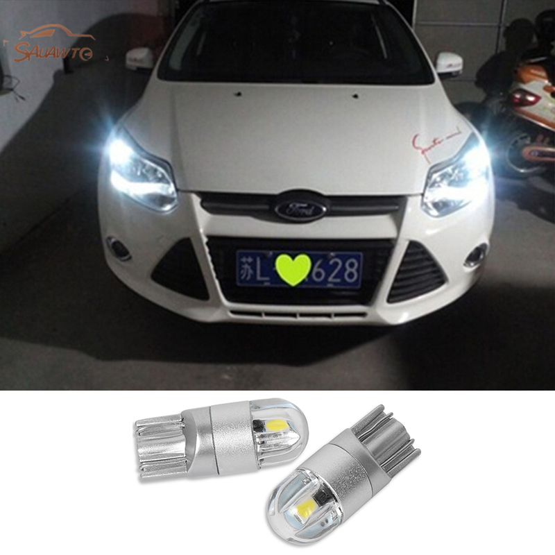 Car <font><b>Light</b></font> T10 W5W <font><b>Led</b></font> Wedge Bulb Auto Dome Reading Parking <font><b>Lights</b></font> Clearance <font><b>light</b></font> For <font><b>Ford</b></font> <font><b>Focus</b></font> 2 3 MK2 MK3 MK4 Fiesta Ranger image