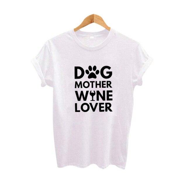 Dog Mother Wine Lover Women...