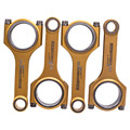 Titanize Connecting Rods 154.8mm For Mazda Premacy/ FOR Mazda5 14-15 2.0 ARP2000 Bolts Pistons Rods Conrods Bielle Pleuel
