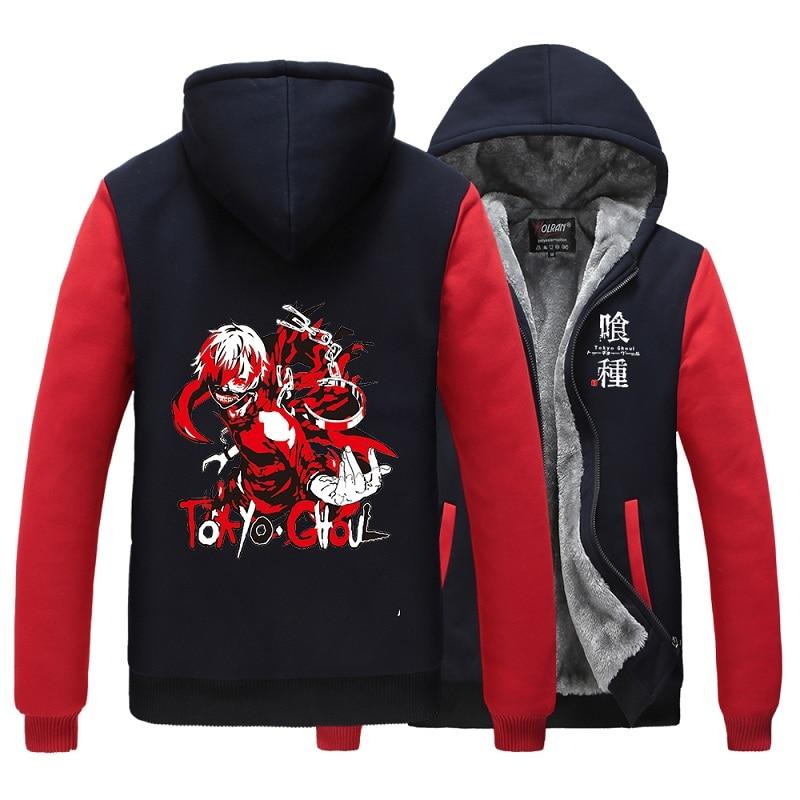 Anime Tokyo Ghoul Cosplay Baseball CoatKaneki Ken Sweatshirt Jacket New Unisex