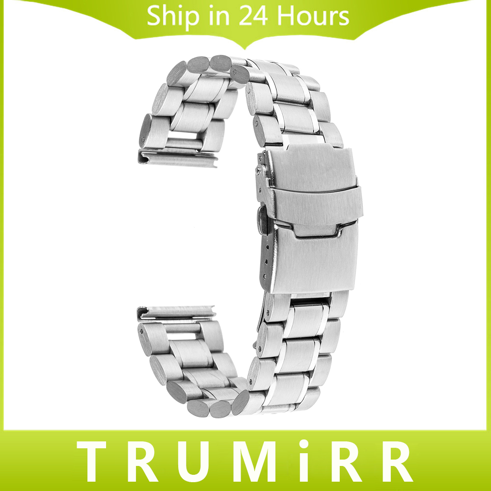 16mm 18mm 20mm 22mm Stainless Steel Watch Band with Safety Buckle for CK Calvin Klein Wrist