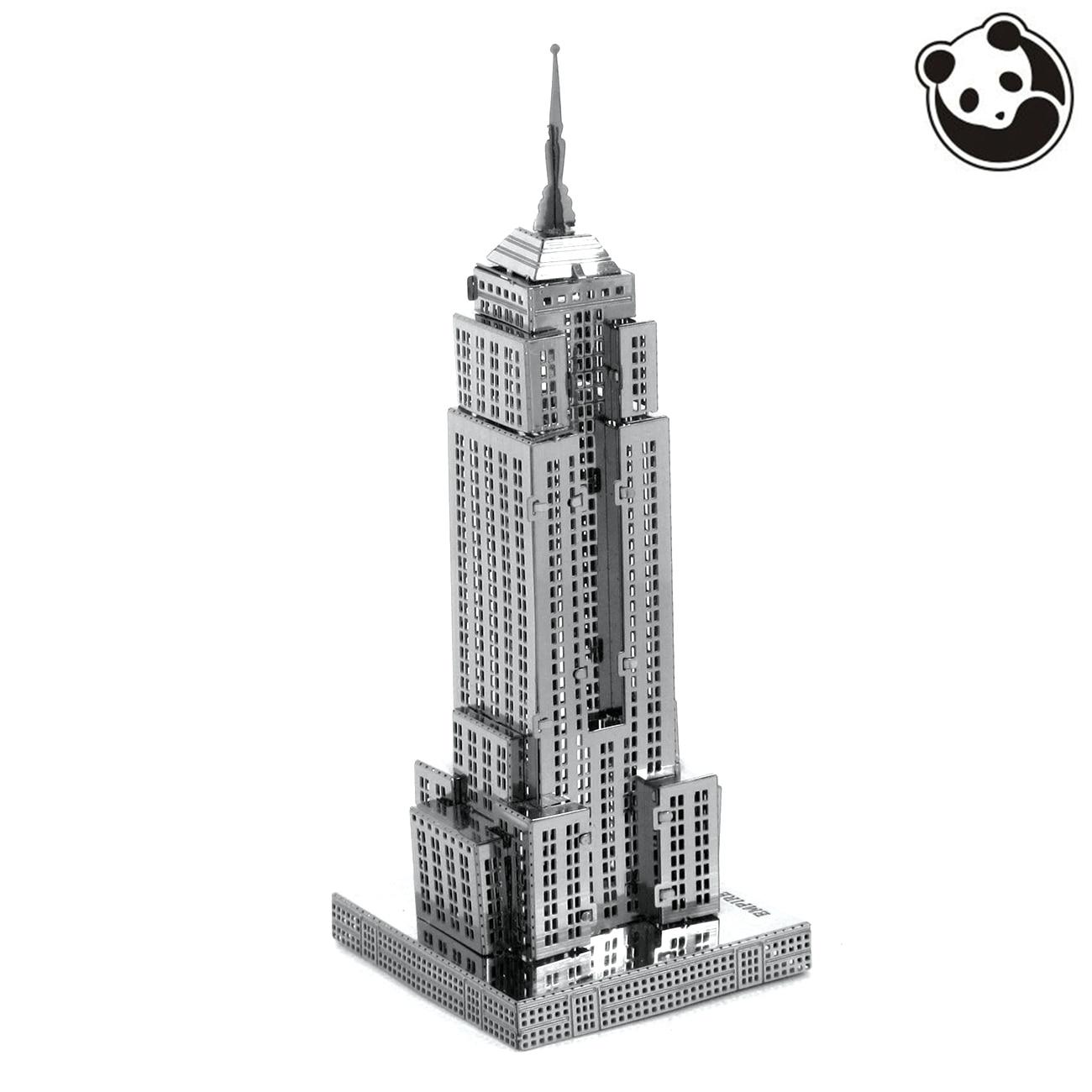 Pandamodel @ Bau Berühmte gebäude über die welt 3D Metall modell Puzzles...