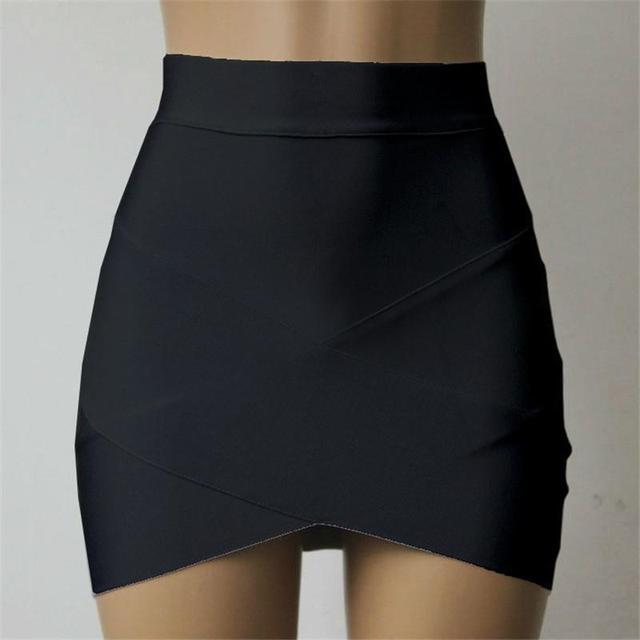 4df78d4cb € 11.31  2017 mujeres de la manera corto Faldas verano nueva moda estrecho  apretado Faldas alta cintura bodycon STRAP mujeres apretadas en Faldas de  ...