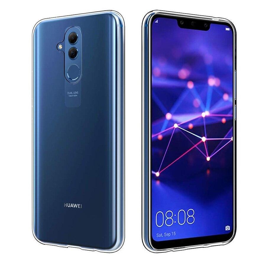 disponibilità nel Regno Unito d5735 bf3d4 US $0.76 31% OFF|TPU Case For Huawei P20 Mate 20 Lite Pro Clear Phone Back  Cover For Huawei Honor 8X Note 10 Nova 3 3i Case Slim Silicone Cover-in ...