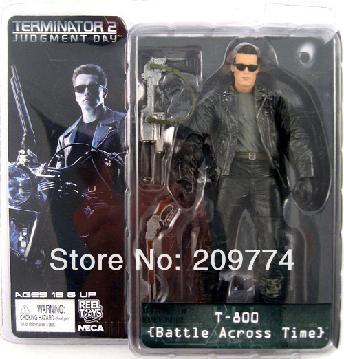 """NECA Terminator 2 T2 T-800 ARNOLD BATTLE ACROSS TIME 7"""" Figure"""