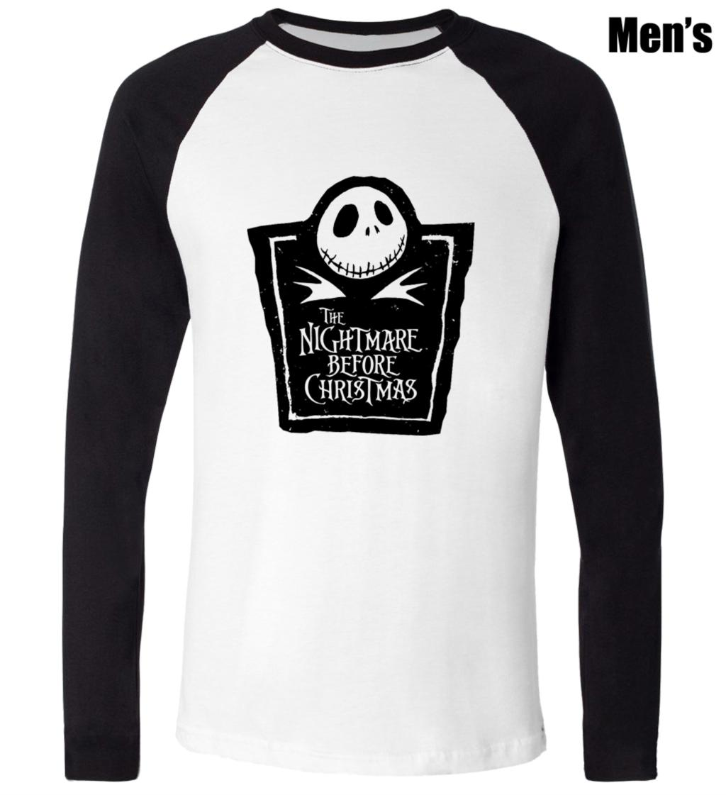 Jack Skellington The Nightmare Before Christmas Design Printed T ...