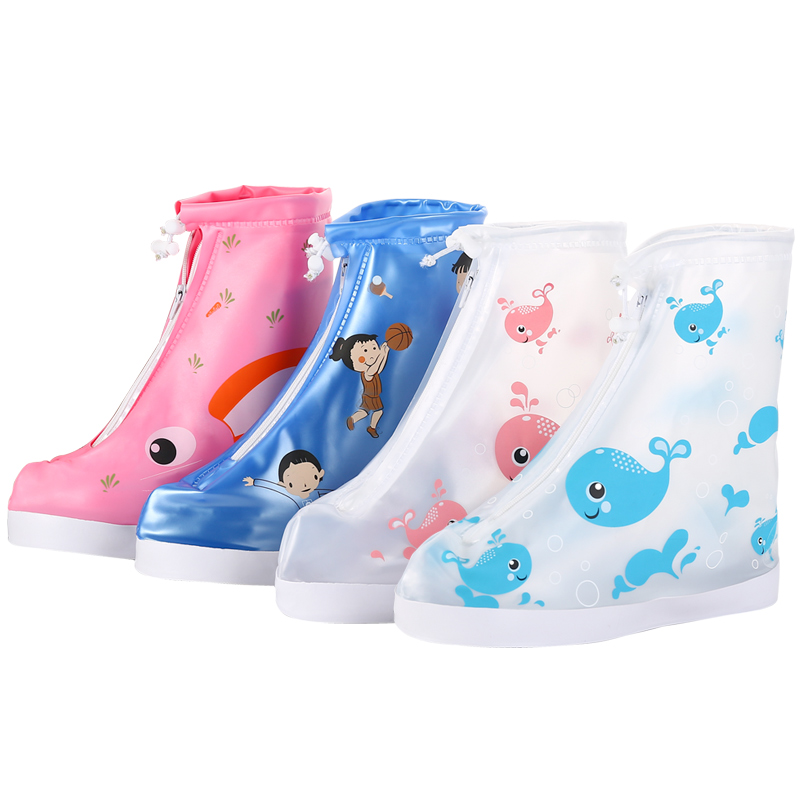 Waterproof and Rain Proof Shoe Sleeve for Primary School Students
