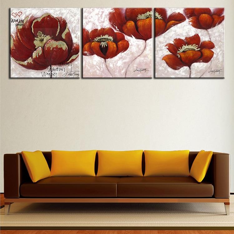Online get cheap 3 piece canvas art ideas for 3 piece painting ideas