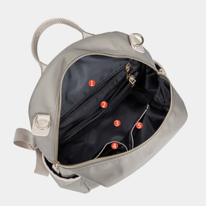 Image 4 - Atinfor à prova dwaterproof água anti roubo náilon pequena mochila feminina bolsa de ombro de viagem mochilas