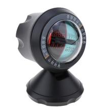 Многофункциональный автомобильный Инклинометр Наклонный уличный измерительный инструмент для выживания автомобильный компас Наклонный стабилизатор