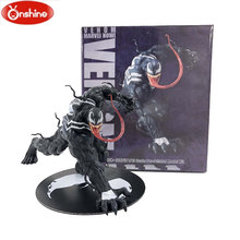 Spider Man Venom Figura ARTFX + X HOMENS X-MEN Edward Brock Iron Man Wolverine PVC Action Figure Modelo Coleção Toy presente(China)