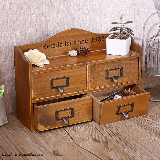 cabinet organizer mygift amazon jewelry drawers with natural wood dp office wooden kitchen dining storage com cizxyvl small