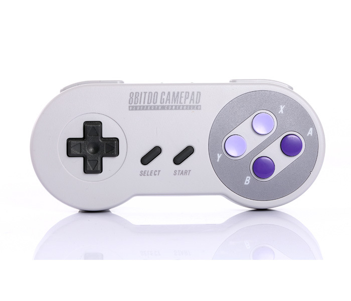 8bitdo SNES30 Wireless Bluetooth Controller Dual Classic Joystick for Nintendo Switch/Android/iOS/MacOS/Windows/Steam 8bitdo fc30 pro wireless bluetooth controller dual classic joystick for android gamepad pc mac linux