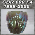 Motorcycle Part For Honda CBR 600 F4 1999 2000 99 00  Windshield/Windscreen - iridium Magic color