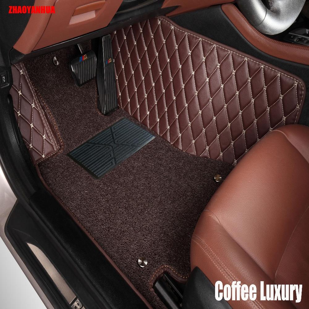Zhaoyanhua car floor mats for audi a5 sportback s5 a3 a4 a6 a7 a8 a8l q3