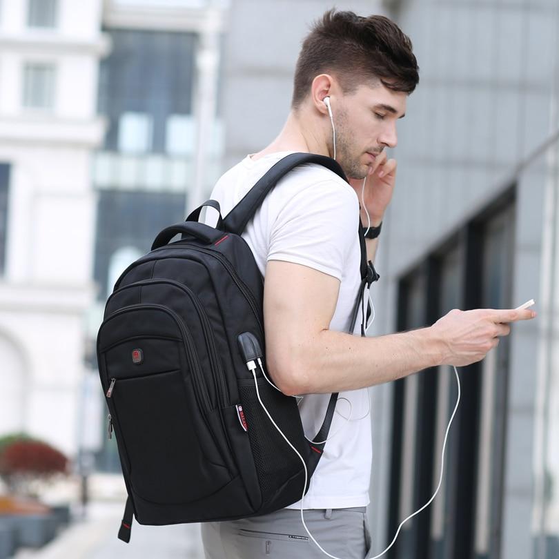 Balang Brand Casual Unisex Backpack Multifunction Usb Charging For Men Backpacks 15.6 Laptop Teenager Bagpack Students Bags #4