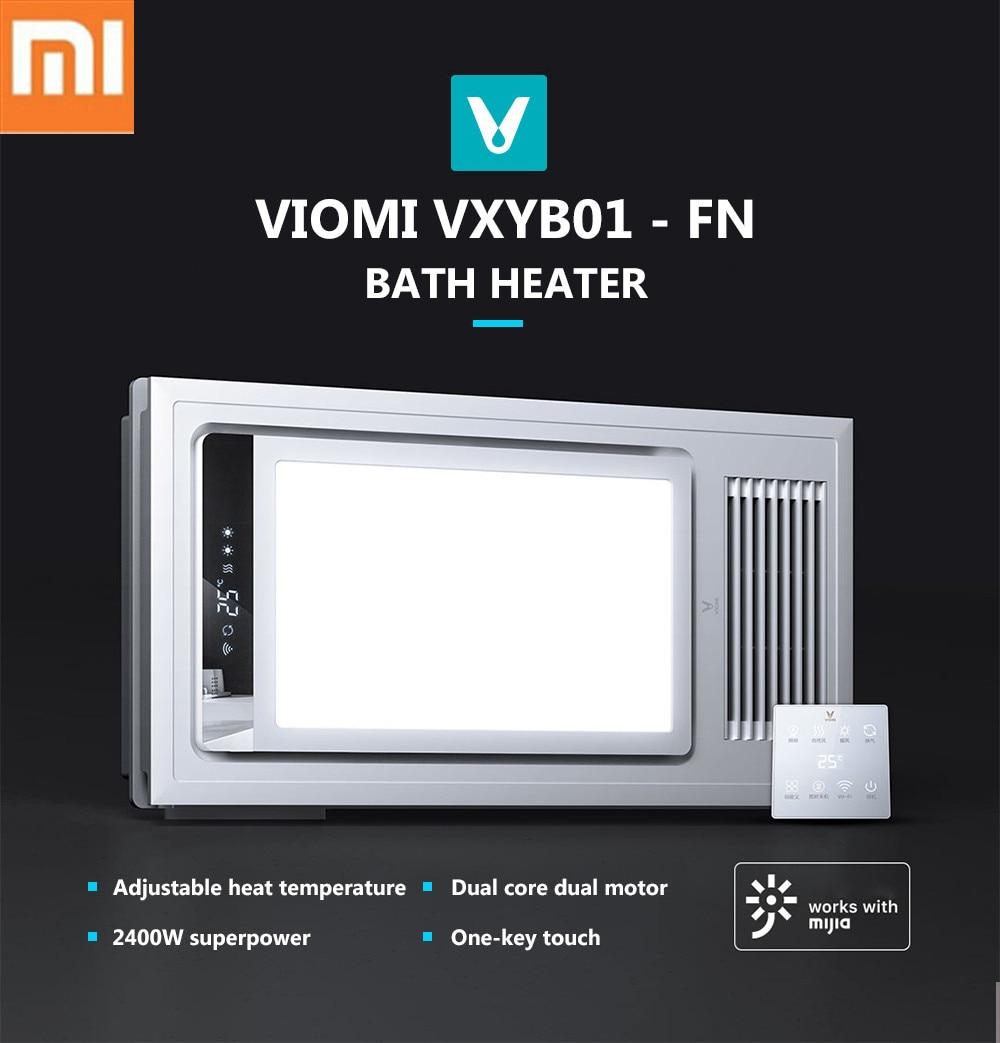 Calentadores Para Cuartos De Bano.Xiaomi Viomi Xyb01 Fn Smart 4 In1 Led Calentador De Bano Pro
