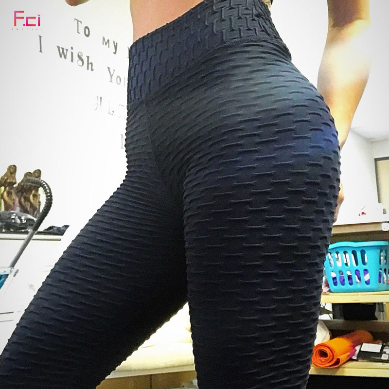 Tight Leggings Push-Up Sexy High-Waist Mujer Women B Absorbent Wrinkle Breathable