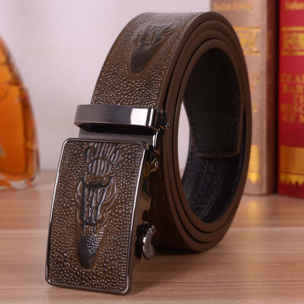 7f88988f0cfb 100% en cuir véritable handcrafted CROCO ceintures pour hommes 2015 fashion  designer de marque de luxe de haute qualité peau de vache ceinture cinto ...