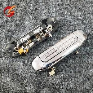 Image 2 - שימוש עבור mitsubishi פאג רו V31 V32 V33 V43 V44 V45 V46 דלת ידית פנימי ידית חיצונית ידית דלת אחורית ידית