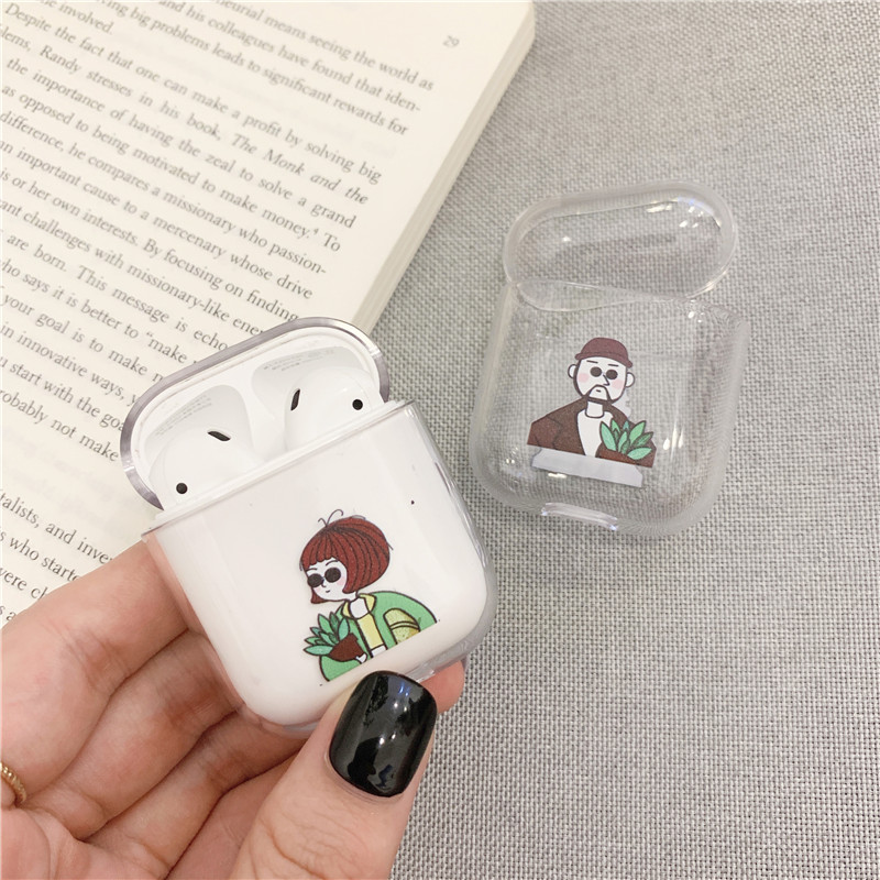 Funny Nostrils Pattern Case For AirPods Pro 1