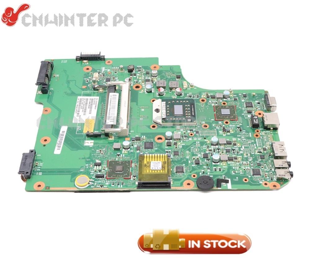 NOKOTION V000185580 V000185560 For Toshiba Satellite L505 L505D Laptop Motherboard Socket S1 DDR2 Free CPUNOKOTION V000185580 V000185560 For Toshiba Satellite L505 L505D Laptop Motherboard Socket S1 DDR2 Free CPU