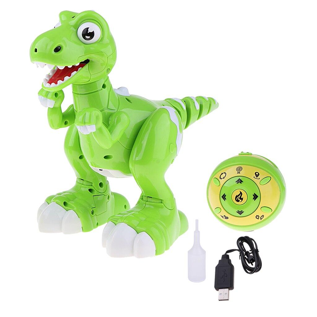 Juguete de dinosaurio de Control remoto infrarrojo para caminar bailando pulverización inteligente interactivo modelo de dinosaurio electrónico RC Pet Animal regalo-in Mascotas electrónicas from Juguetes y pasatiempos    1