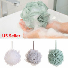 Large Scrubber Sponge Flower Exfoliating Body Brush Puff Bath Shower Mesh 2019 New
