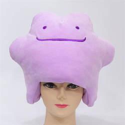 Мультфильм плюшевые куклы шляпа вокруг аниме prop шапка, аксессуары для фотографий Косплей игрушка плюшевая игрушка в шапке Рождество