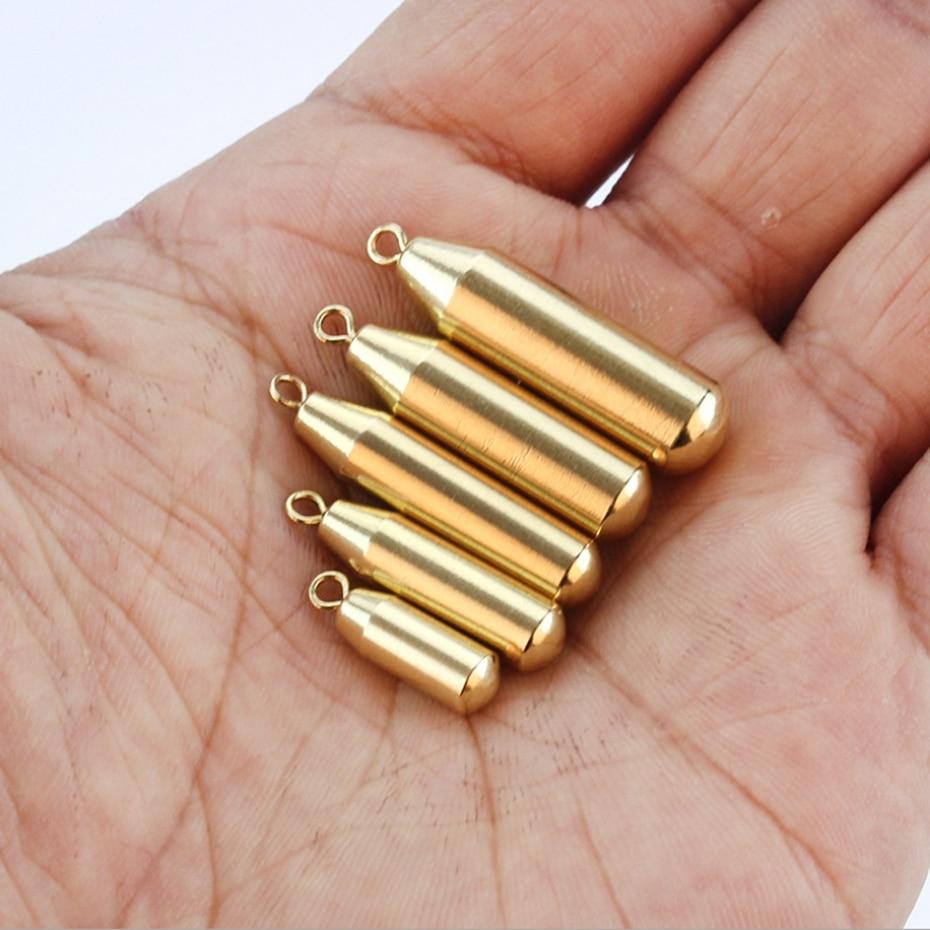 YINGTOUMAN 1.8g/3.5g/5g/7g/10g Head Lead Deep Water Bullet Weight Soft Lure Baits Texas Fishing Accessories Lead Sinker Hook