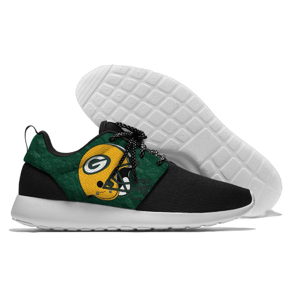 Packers Chaussures de Course Lacent Sport Chaussures confortable Jogging Marche Athlétique Chaussures lumière poids de Green bay style