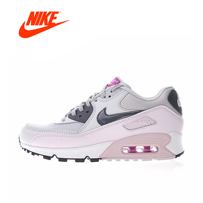 8f760f3e61a Nike Air Max 90 Women s Running Shoes Abrasion Breathable Resistant Shock  Absorption Outdoor Sneakers 616730-
