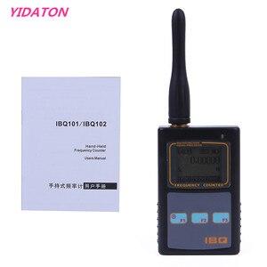 Image 2 - IBQ102 Handheld Digital Frequenzzähler Meter Breite Palette 10Hz 2,6 GHz für Baofeng Yaesu Kenwood Radio Tragbare Frequenz Meter