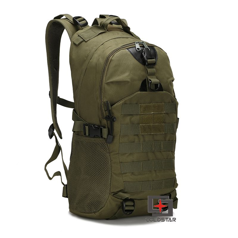 Free Shipping Army Green Unisex <font><b>Outdoor</b></font> Military Tactical Backpack Camping Hiking Mountaineering Backpack Waterproof Travel <font><b>Bag</b></font>