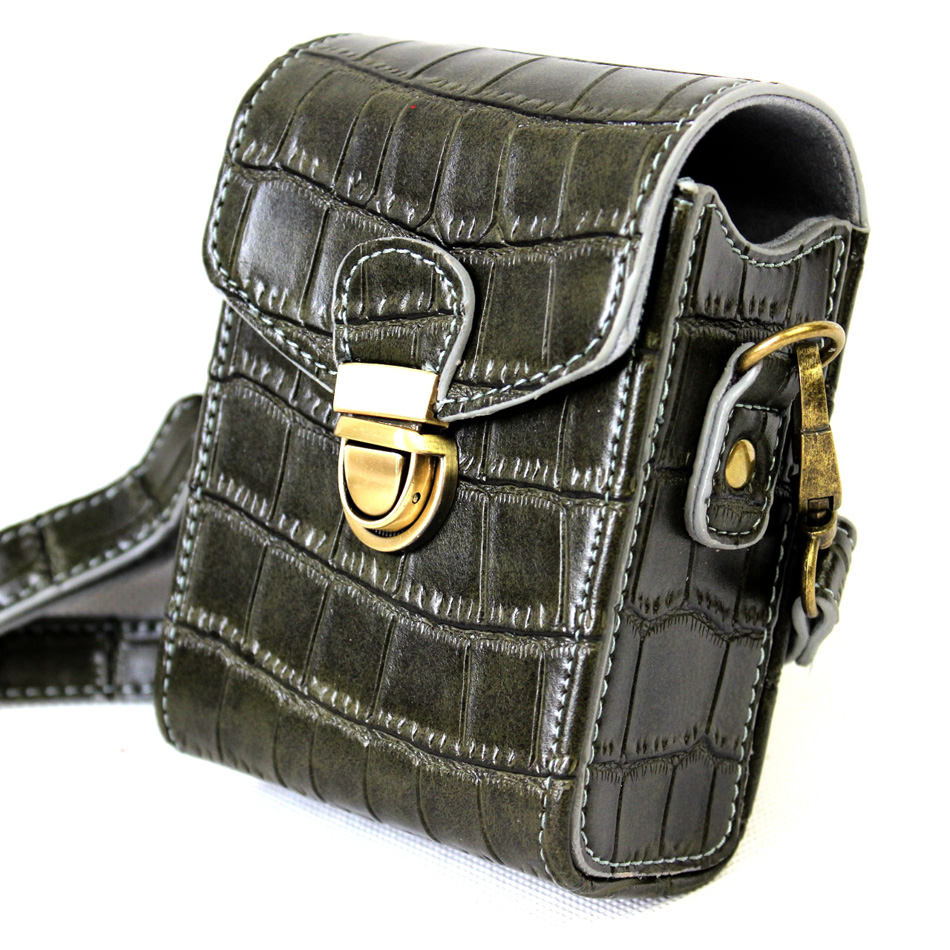 High Quality PU Leather Camera Bag For Samsung WB2000 WB800F WB30F DV150F WB35F WB50F DV180F WB351F WB250F WB201F WB750 MV800