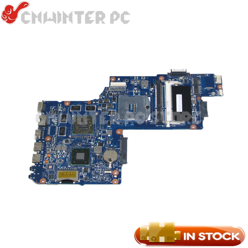 NOKOTION NEW Laptop Motherboard For Toshiba satellite C850 L850 Main Board H000052630 HM76 DDR3 HD7610M Video Card