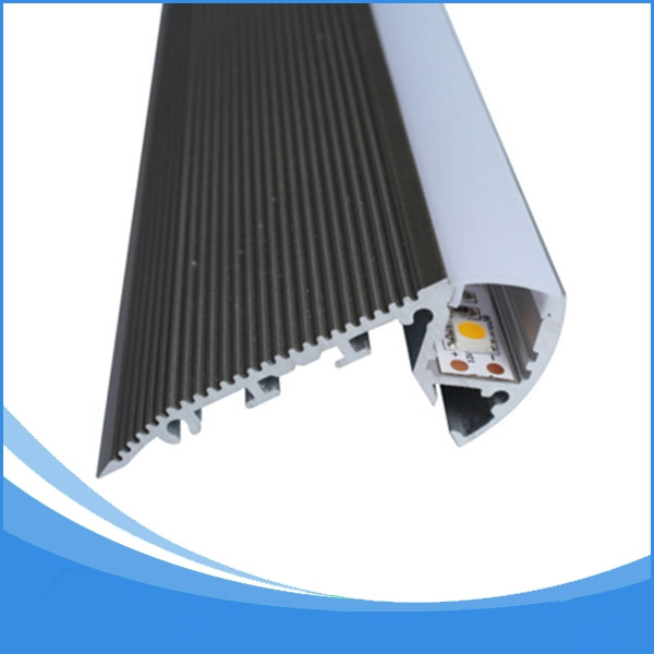 2PCS-1m length Aluminum LED Profile-Item No.LA-LP37A led Stairs profile suitable for LED strips up to 12mm width-Free Shipping 2pcs 1m length aluminum led profile item no la lp37a led stairs profile suitable for led strips up to 12mm width free shipping